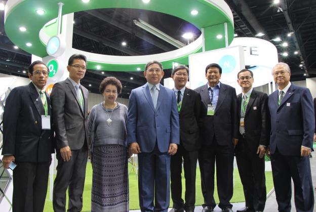 บูธนิทรรศการของบีไอจีในงาน Eco-Products 2016