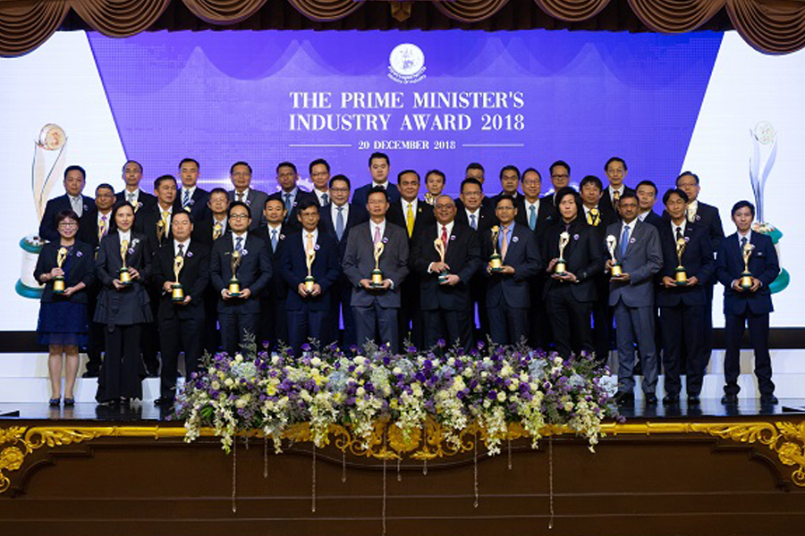 BIG Received the Outstanding Industry Award in Quality Management from the Prime Minister Prayuth Chan-ocha